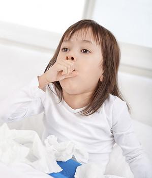 Причины сухого детского кашля