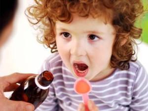 Сироп от кашля детям