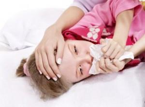 Сухой аллергический кашель