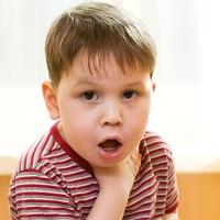 У ребенка лающий кашель